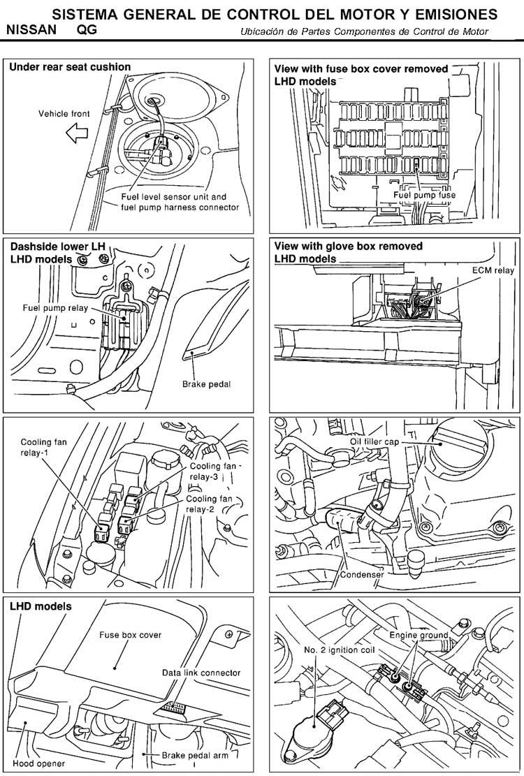 Nissan Sentra Sistema De Emisiones Emissions System