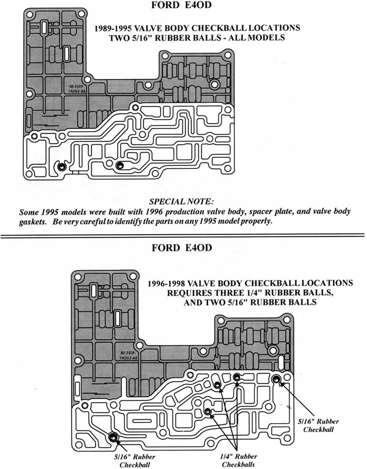Ford E40d Check Ball Diagram Example Electrical Circuit