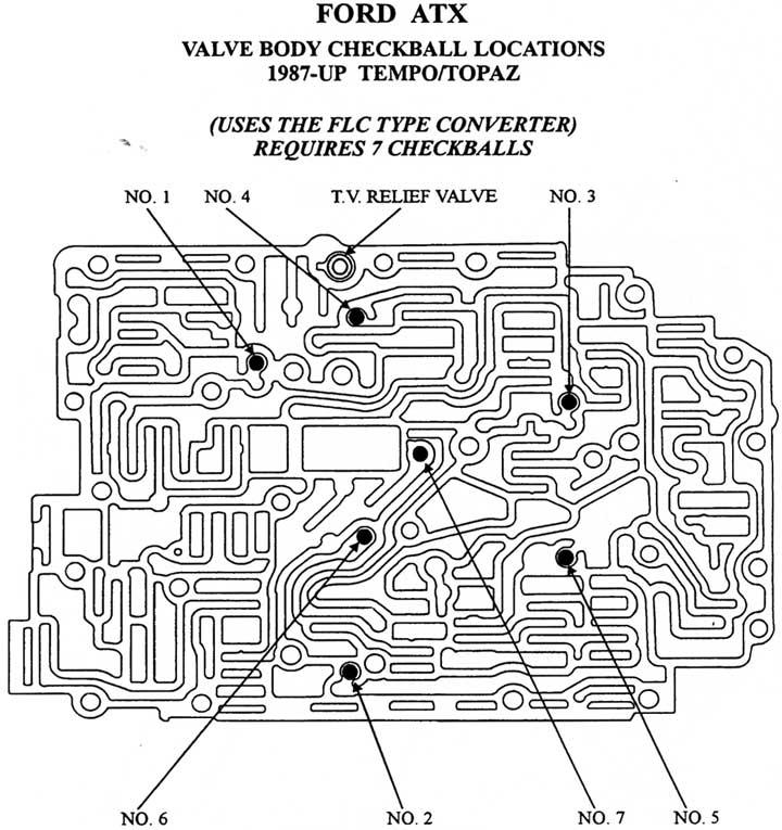 Manual valve body Allison 545