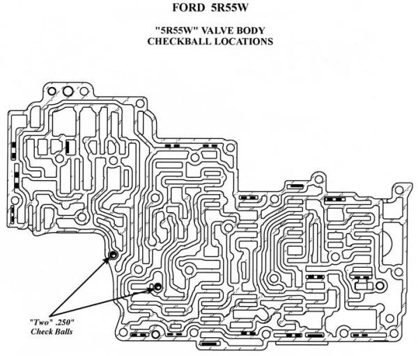 ford aod transmission wiring diagram