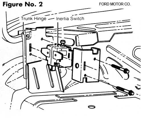 Taurus Fuel Pump Inertia Switch
