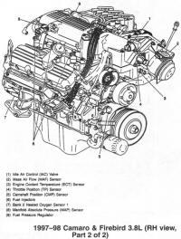 3 1 Liter Engine Diagram Timing Chain likewise Pt Cruiser Neutral Safety Switch Wiring Diagram likewise 2 24l Belt likewise Wiring Diagram For 1988 Firebird additionally 131 Aurora V6. on 98 pontiac firebird