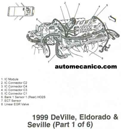 1968 Camaro Turn Signal Wiring Diagram besides 1983 Toyota Pickup Wiring Diagram in addition Cadillac Srx Camshaft Sensor Location additionally Location Of Engine Coolant Sensor 98 Seville in addition 330803149308. on cadillac seville