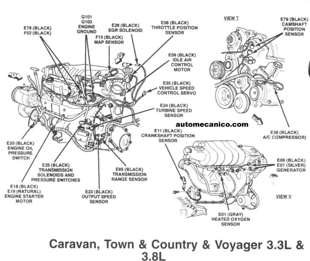 Chrysler v engine diagram get free image
