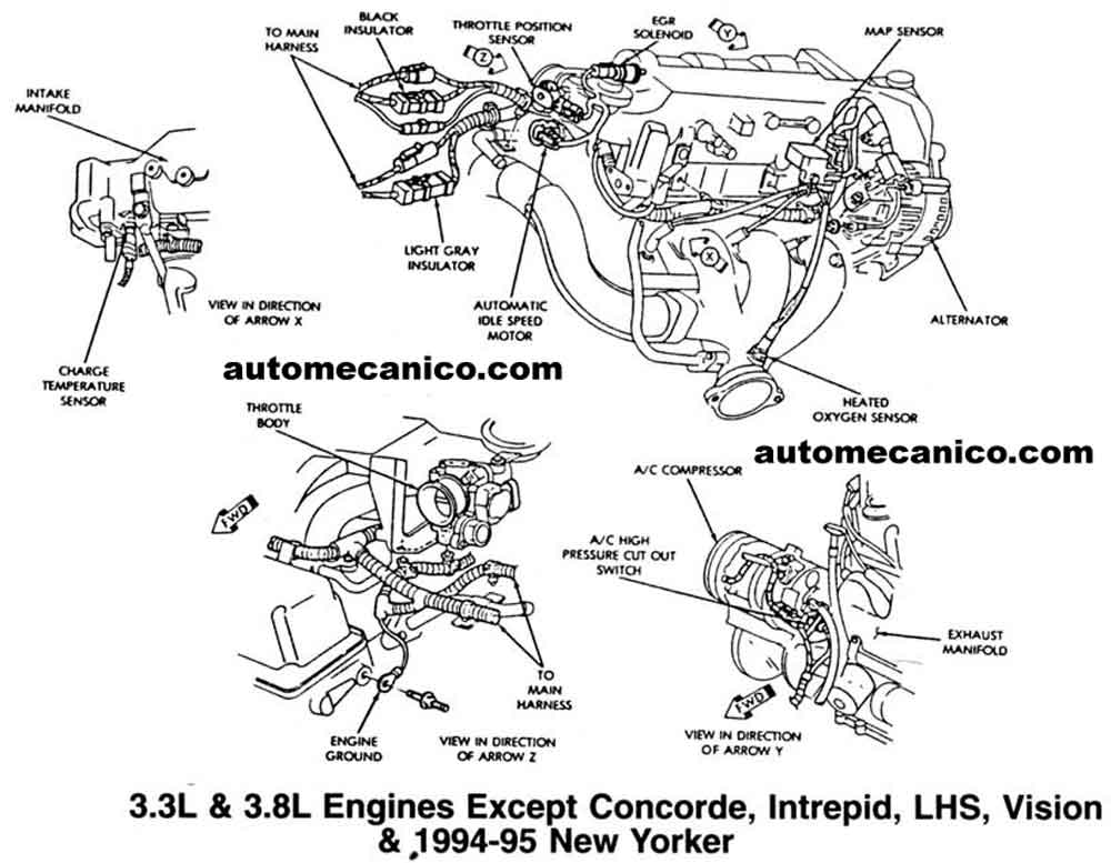 chrysler minivan 3 8 engine diagram  chrysler  free engine