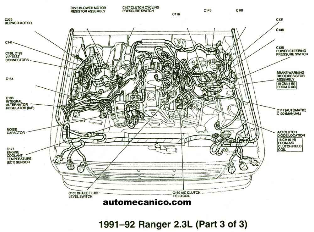 94 ford ranger 2 3l fuse box diagram get free image. Black Bedroom Furniture Sets. Home Design Ideas