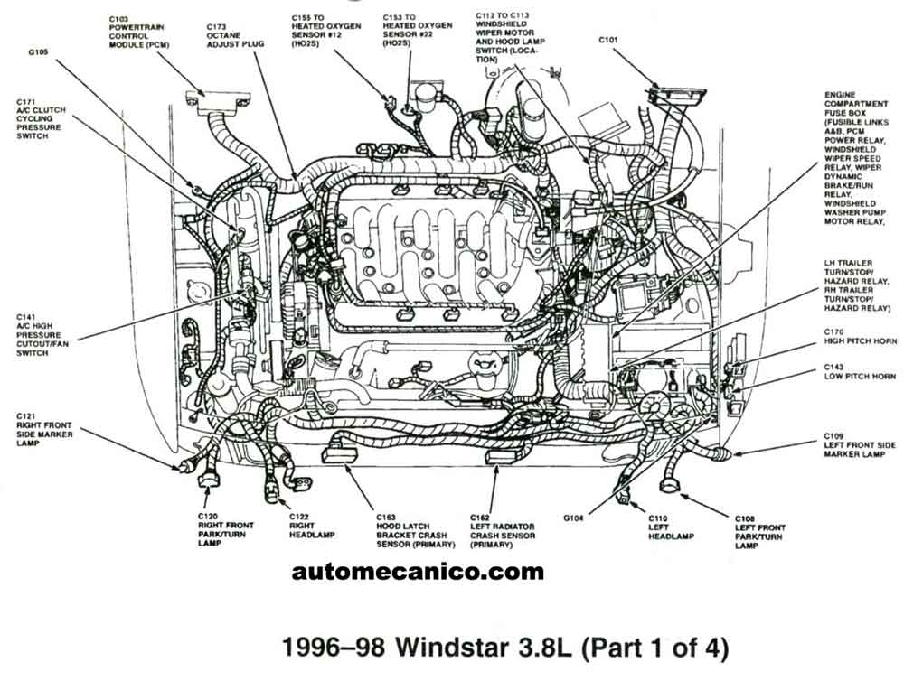 Wiring Diagram Dodge Ram 1500 Door Latch as well 1m0n8 2002 Ford F350 Super Duty Gem Module Located furthermore 3dljb 1996 Ford Windstar Won T Start Fuel Delivery Pcm Right Track together with 32j62 Ignition Coil Not Work 2001 as well Ford Ranger Door Ajar Switch Location. on 1999 ford windstar