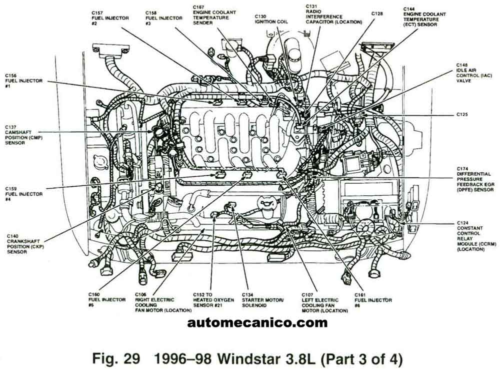 2000 ford f150 engine diagram