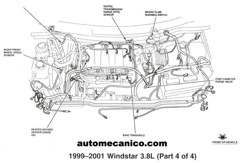 1998 Ford Explorer Cooling System Diagram furthermore Nissan 240sx Wiring Diagram Starting System furthermore Actuator temp door motor as well 2000 Mercury Mountaineer Exhaust Diagram as well 3 8 Buick Lesabre Purge Valve Canister Location. on 03 mercury villager
