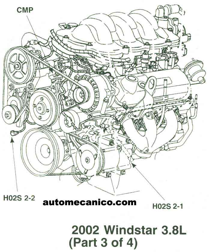 1999 ford ranger engine diagram 2011 ford taurus engine