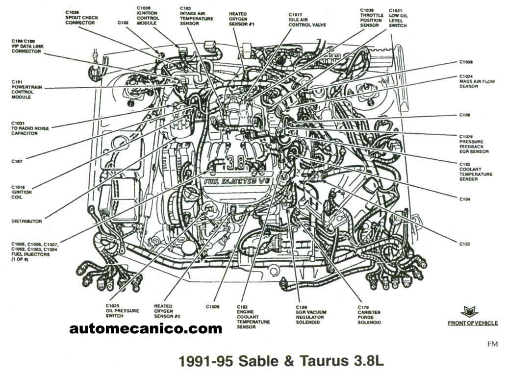 2002 Pontiac Bonneville 3800 Engine Diagram on 2000 Ford Mustang 3 8 Serpentine Belt Diagram
