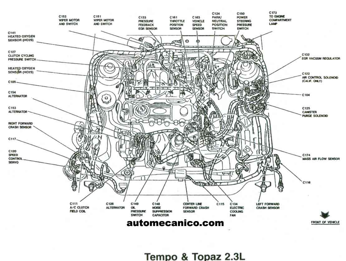 ford aerostar suspension diagram ford free engine image 1992 Mercury Sable Fuse  Panel For 1999 Mercury
