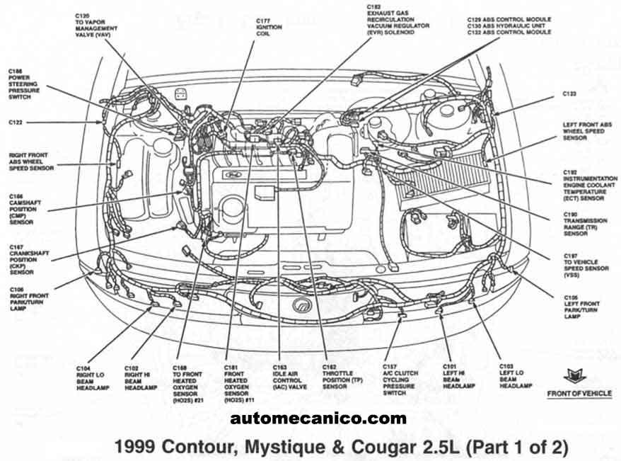 ford - lincoln - mercury - sensores - light trucks  2002