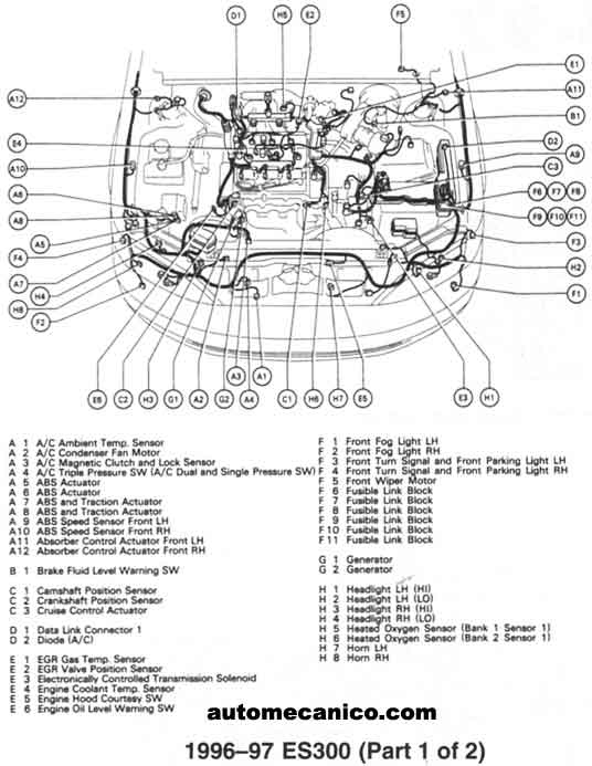 lexus es300 transmission diagram