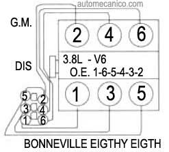 Gm Gen Iii Ls Pcmecm Change Firing Order likewise North Star Engine Diagram Air Flow in addition 1960 Chevy C10 Wiring Harness besides 5 3 Crank Position Sensor Location together with Breaking Rules 392 Magnum Engine Build. on gm firing order