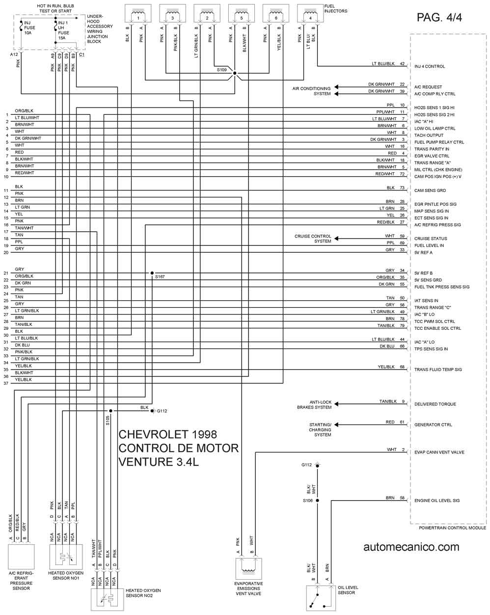 98 Ford Fuse Box Diagram Wiring Will Be A Thing 1998 F 150 Exterior Diagrama De Motor Hyundai 2000 Free Engine F250 F150