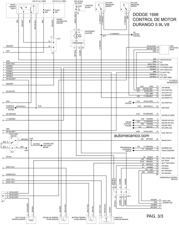 Dodge 1998 Diagramas Esquemas Graphics Vehiculos