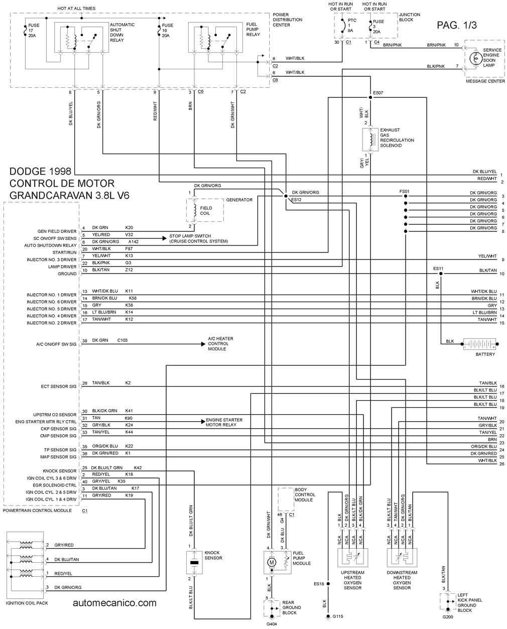 diagrama electrico de motor control  diagrama  free engine