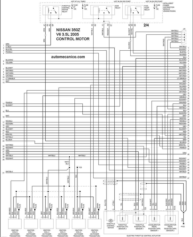 diagramas de un nissan altima