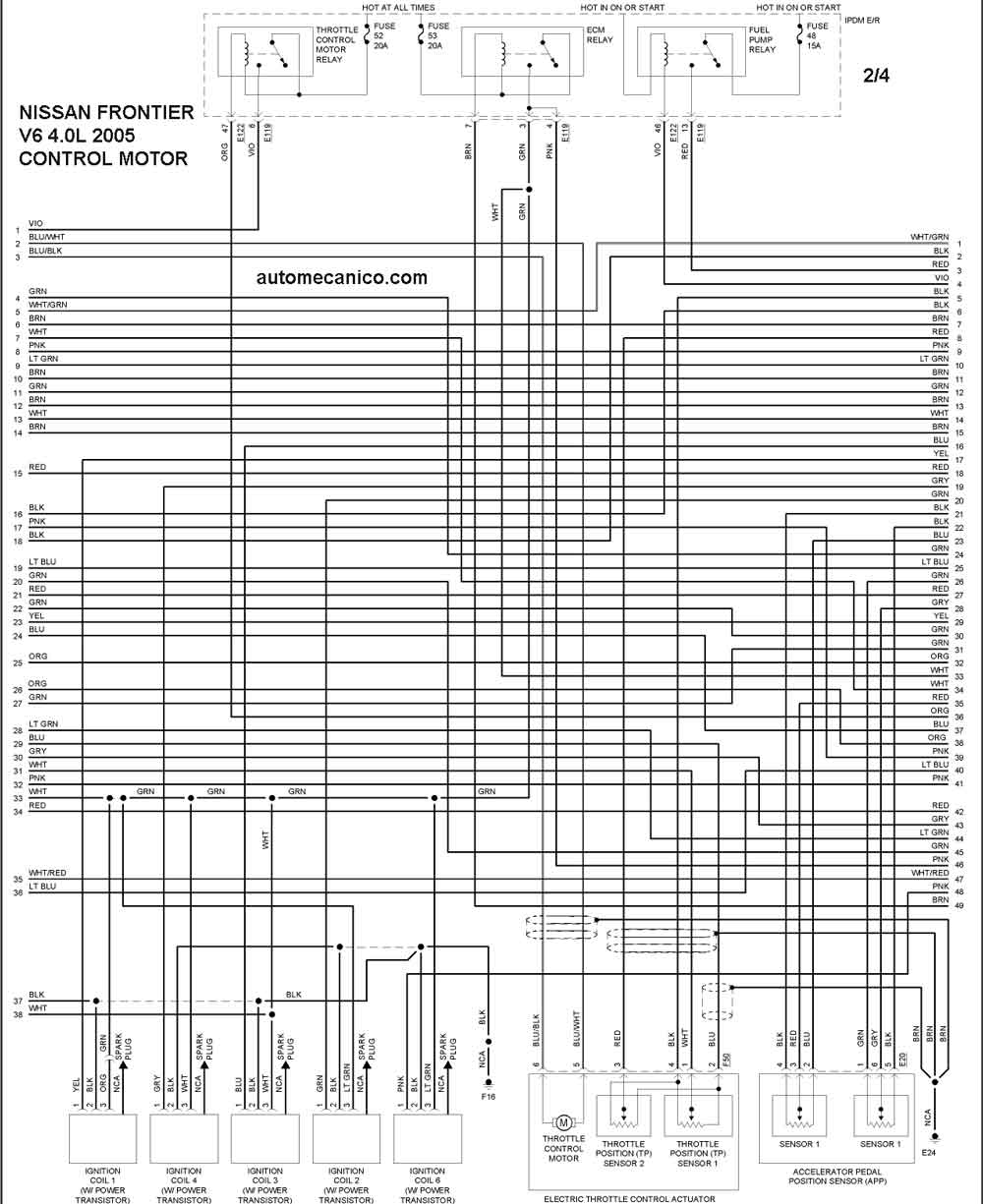 285114 Diagramas De Nissan Frontier on nissan leaf electric motor diagram