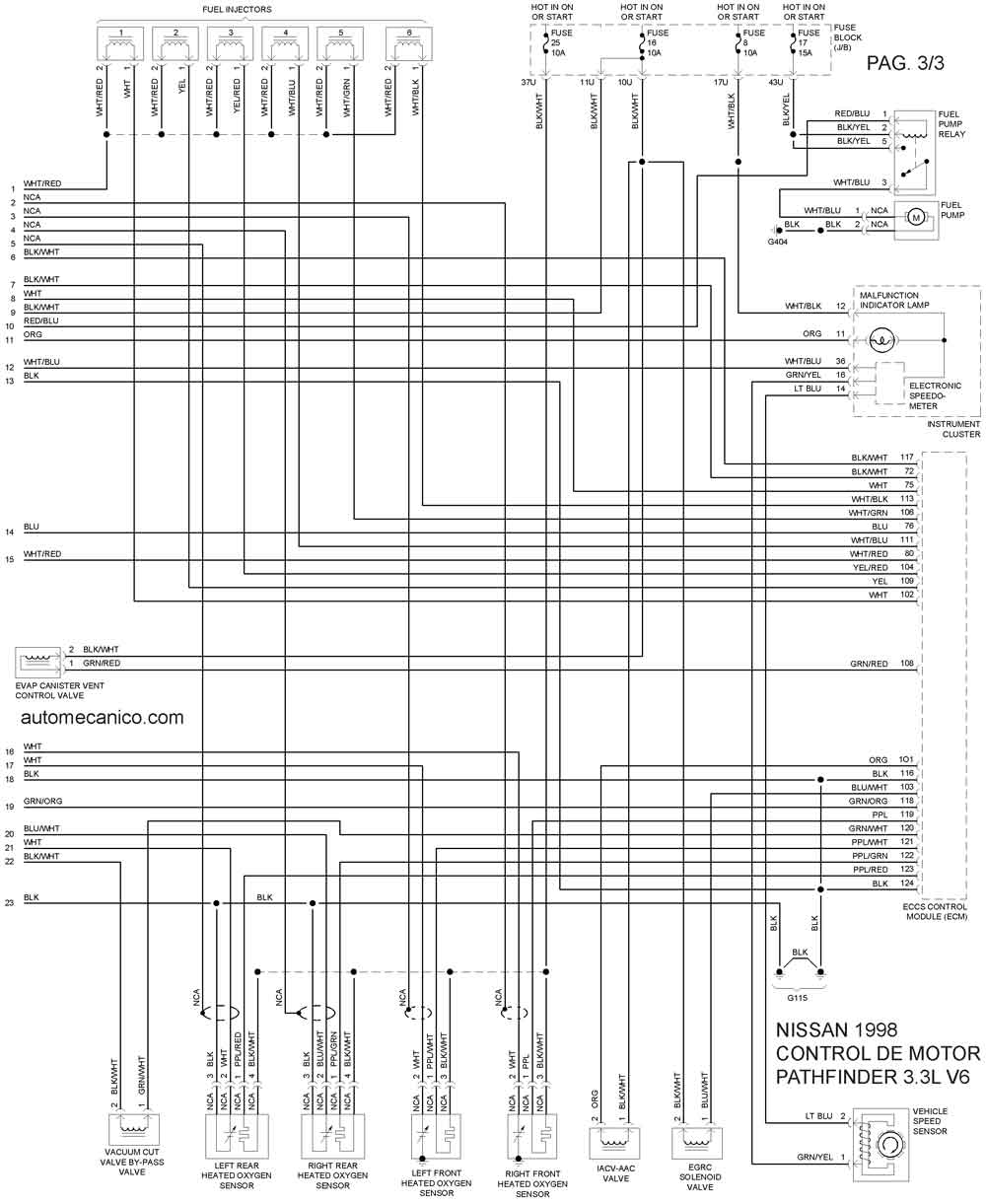 Traxxas 3 Diagrama Del Motor Auto Electrical Wiring Diagram 1985 Nissan 300zx Fuel Pump Relay 1998