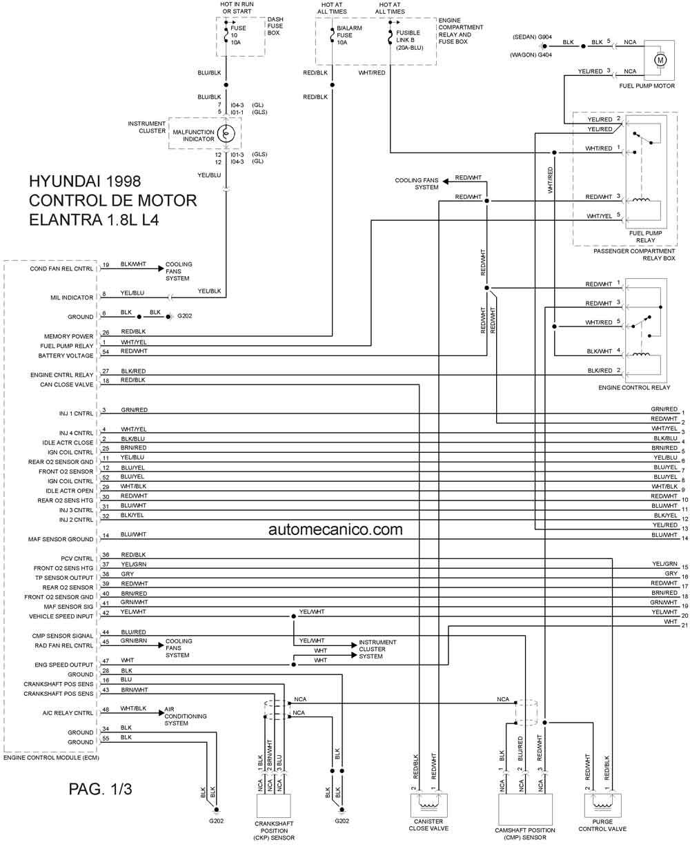 1998 Hyundai Elantra Autos Post