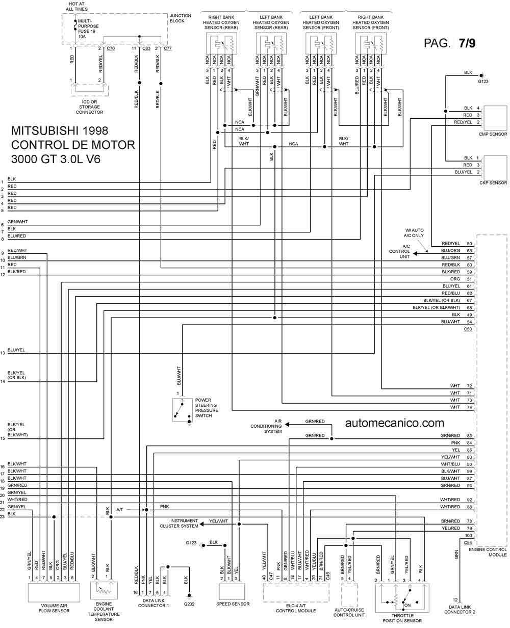 3000GT9830003 Nissan Ac Wiring Diagrams on