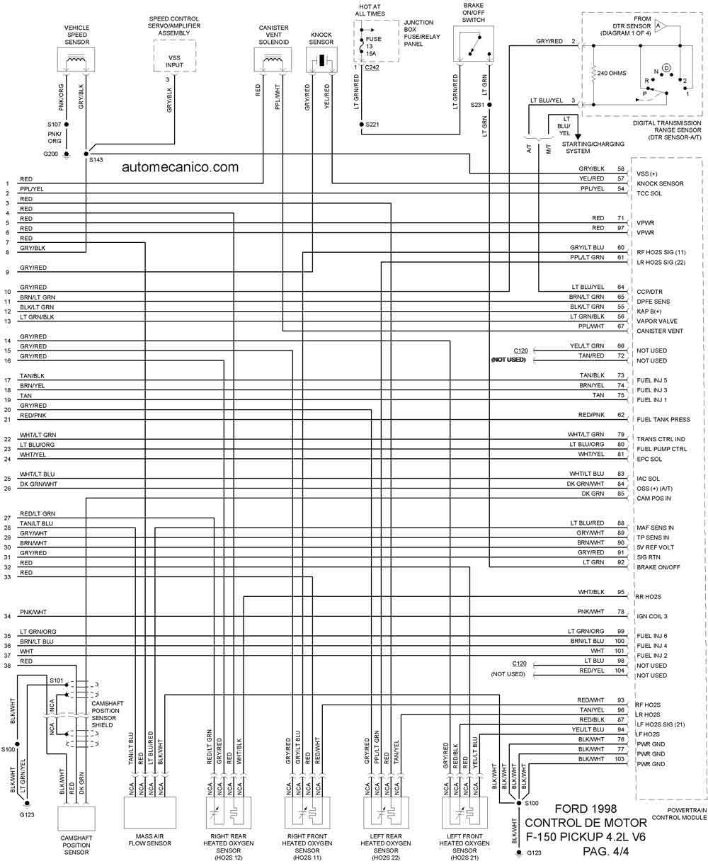 diagrama del los fusibles de f150 97 html autos weblog 2001 Ford Windstar  Fuse Panel 2000 Ford Windstar Fuse Box Location