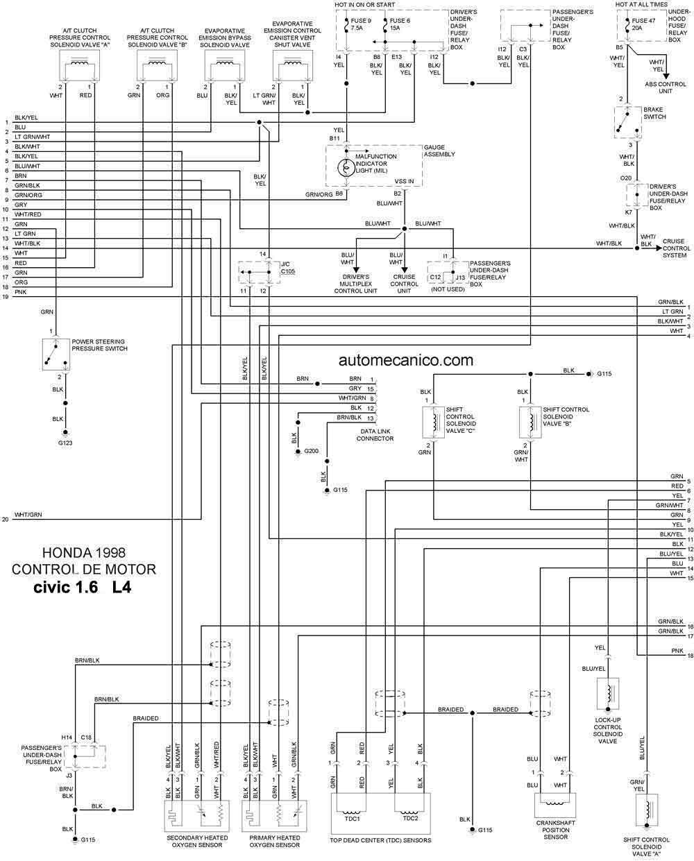 honda xl600r wiring diagram honda nx125 wiring diagram