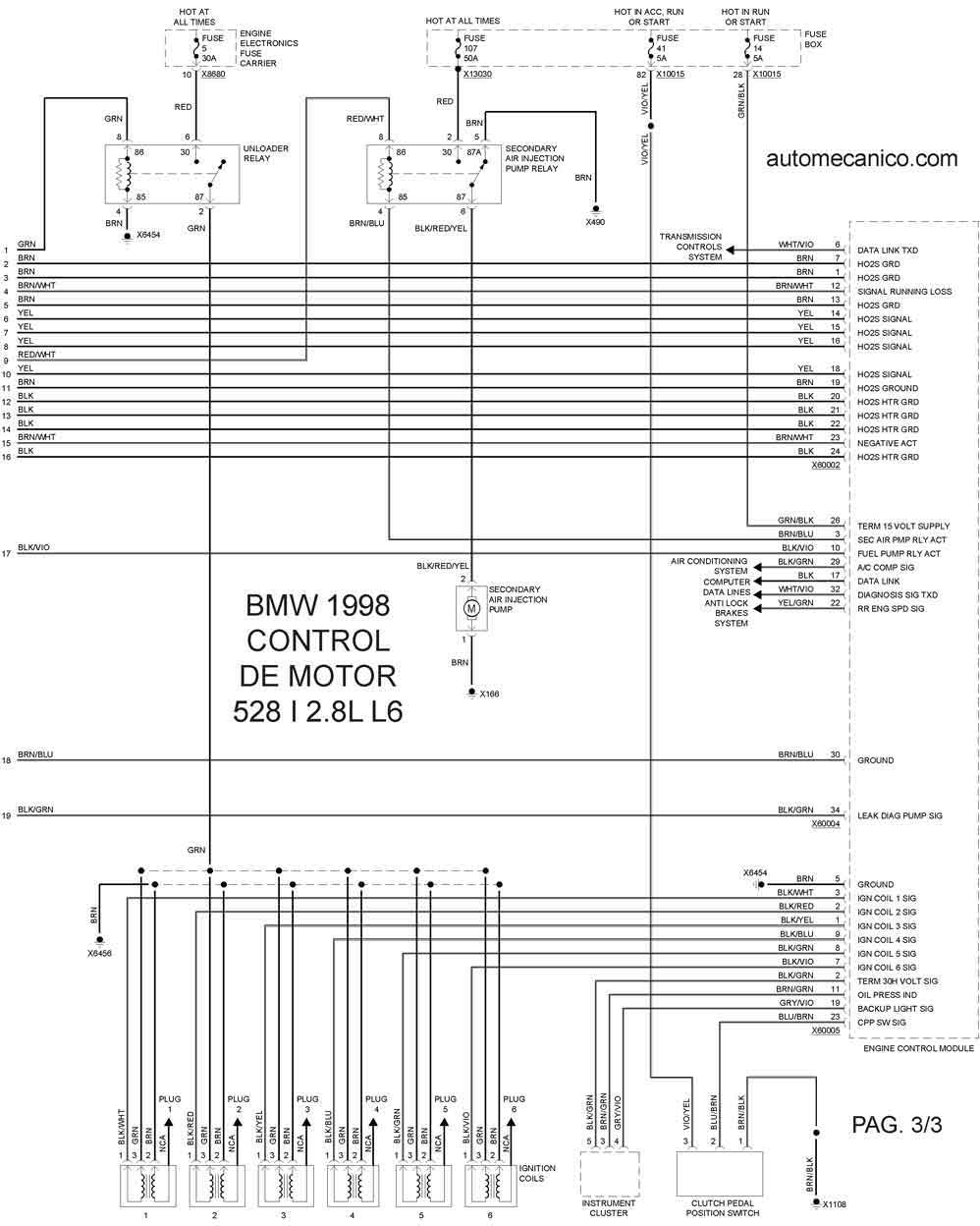 service manual  1993 mercury capri valve wiring diagrams
