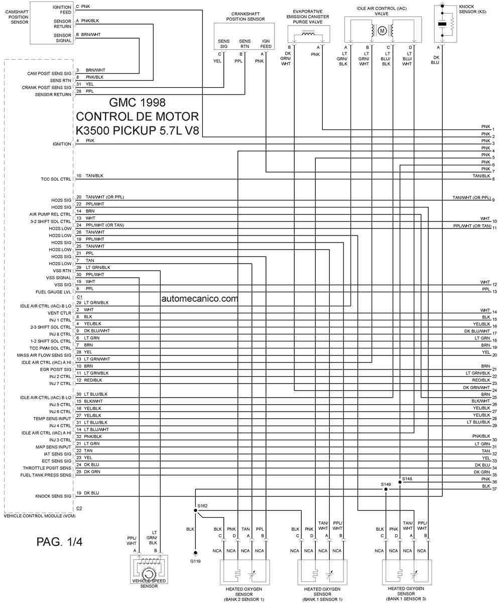 gmc 1998