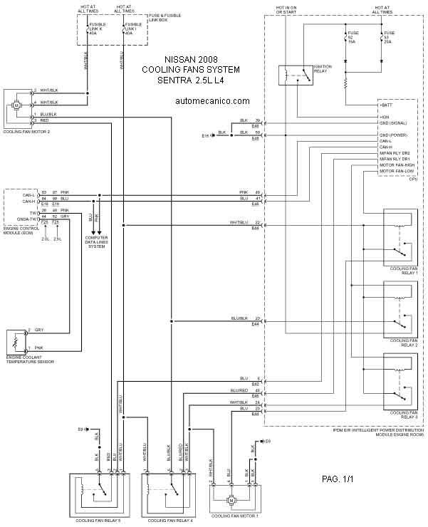 Sentracf on Nissan Pathfinder Cooling System
