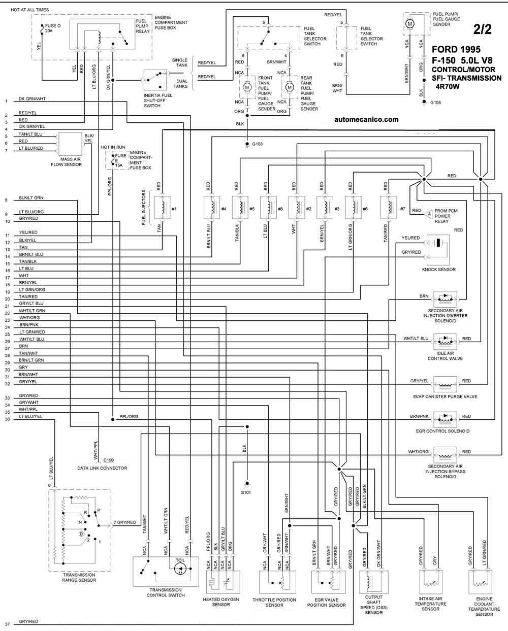 98 Expedition Radio Wire Diagram in addition Toyota T100 Engine Vacuum Diagram furthermore Diagrama Electrico De Ford 150 furthermore Ford Duraspark Wiring Diagram besides Honda 3 0 Firing Order Diagram. on discussion c5237 ds553722