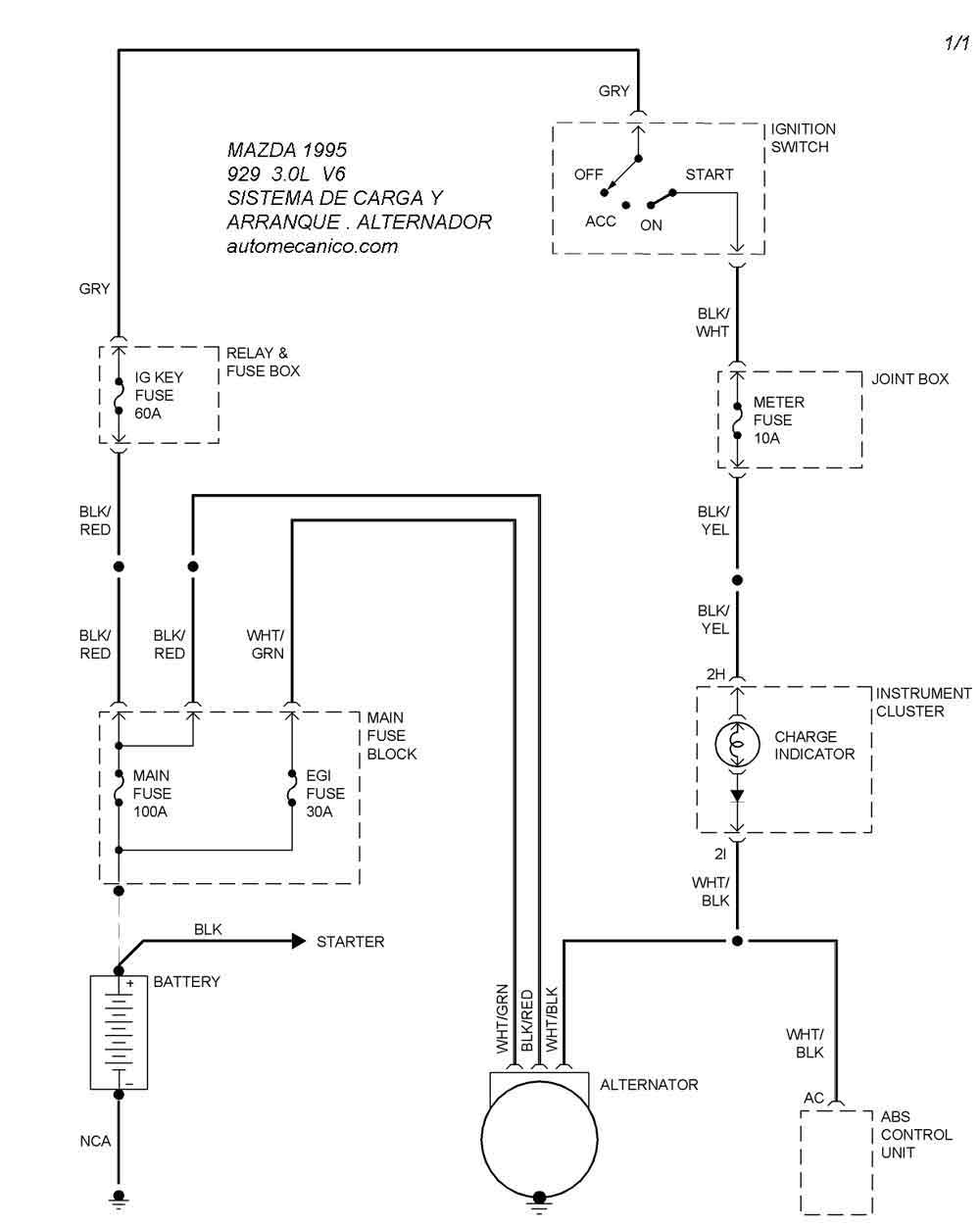 diagram for 1994 mazda b2300 fuse box  diagram  get free