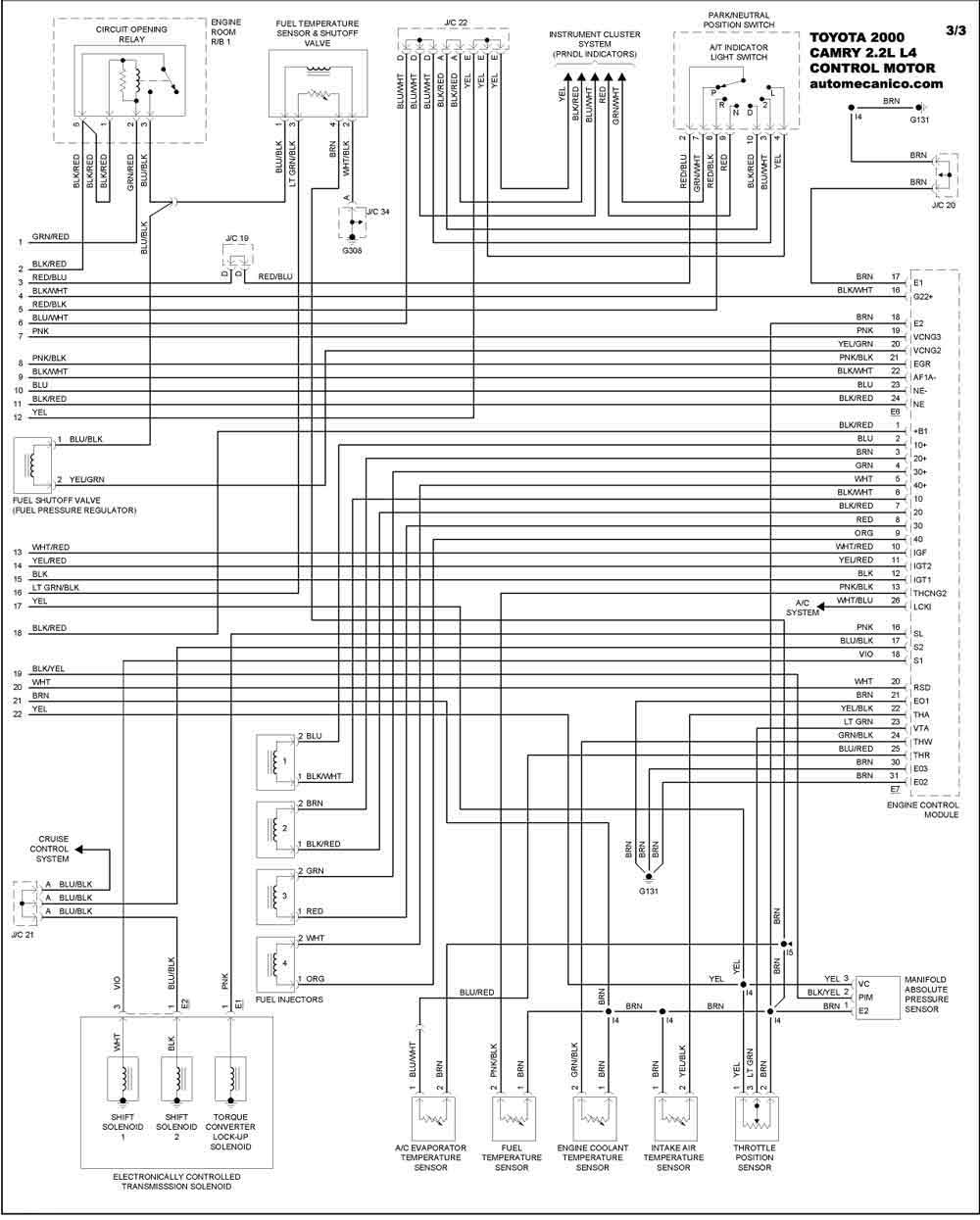 Diagram  Toyota Corolla 86 Diagrama Computadora Full Version Hd Quality Diagrama Computadora